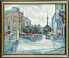 Youri Frantsousov (*1946) russ. Maler in Berlin