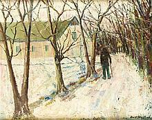 Cort Jacobsen (1911-1967) dänischer Maler Bauer