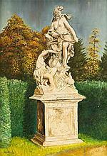 Unidentifizierter Maler Mitte 20. Jh. Ansicht ein