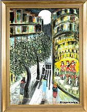 Horst Lesniewicz (1926-2003) Berliner Maler stud