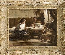 Henrik Moor (1876-1940) stud. an der Münchner Aka