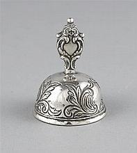 Tischglocke punziert Rußland1845 MZ Silber 84
