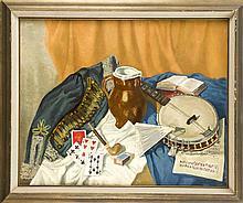 C. Pulch Maler 1. H. 20. Jh. Stillleben mit Spie