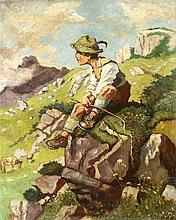 A. Iljeshorst 1. H. 20. Jh. bayrischer Hirtenjun