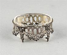Ovale Saliere Deutsch um 1900 Silber 800/000 a