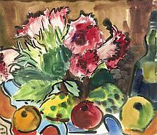 Rudolf Bredow (1909-1973) Blumen- und Obststillle