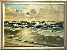 W. Störmer Marinemaler 1. H. 20. Jh. Brandung im
