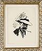 Max Liebermann (1847-1935) 'Selbstbildnis (mit St, Max Liebermann, €120