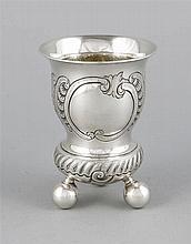 Kugelfußbecher Dänemark1894 Silber 826/000 Res