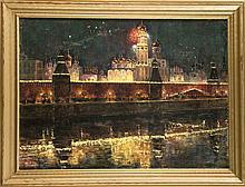 Georg Hlynowski (1899-1974) russischer Maler Feu