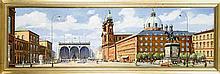 Münchener Vedutenmaler Mitte 20. Jh. Münchener Pa