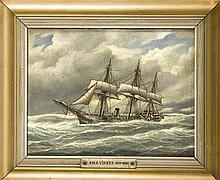 B. Gehlwein Marinemaler Anfg. 20. Jh. Zwei Kapit