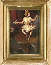 Unidentifizierter Maler um 1920 expressive Theate