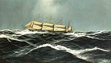Edwin Küssner dt. Marinemaler 1. H. 20. Jh. sehr