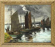 Eugen Dekkert (1865-1956) Maler aus Stettin Stud