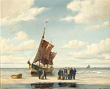 Hermann Pikull dt. Marinemaler Mitte 20. Jh. Fis