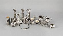 Konvolut von zwölf Kleinteilen 20. Jh. Silber ve