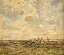 Carl Hansen (1872-1934) dänischer Maler Panorama