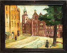 Unidentifizierter Berliner Maler 1. H. 20. Jh. zw