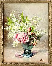 François Rivoire (1842-1919) frz. Blumenmaler Bl