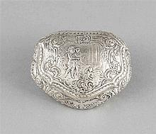 Döschen Deutsch um 1900 Silber 800/000 Muschel