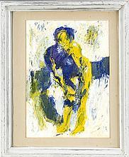 Unidentifizierter Maler 2. H. 20. Jh. abstrahiert