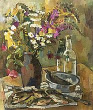 Anonymer Maler 1. H. 20. Jh. Stillleben mit Blume