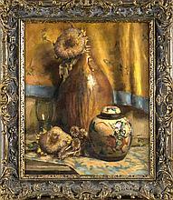 Hans Campfens Maler um 1920 Stillleben mit Trock