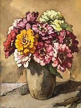 Will Kalshoven (1907-1966) holländischer Stillleb