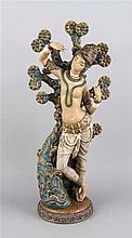 Lladro Spanien 20. Jh. Asiatische Tempeltänzeri