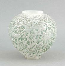 Vase Frankreich Lalique 1920er Jahre runder St