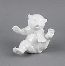 Eisbär Knut KPM Berlin nach 2000 1. W. weiß s