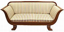 Großes Sofa im Biedermeier-Stil um 1900  Esche m