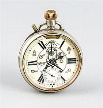 Freimaurer-Taschenuhr um 1910 große Herrentaschen