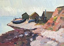 Gustaf Tage Nilsson (1926-1997), schwedischer Maler und Graphiker, kleiner