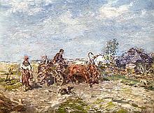 Gregor von Bochmann (1850-1930), Landschafts- und Figurenmaler, Professor i