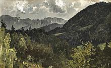 Josef Wenglein (1845-1919), studierte an der Akademie München bei Schönlebe