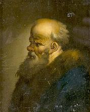 Christian Dietricy (1712-1774) (attrib.), Bildnis eines älteren Mannes mit