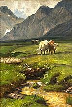 Christian Friedrich Mali (1832-1906), Maler in München, Schüler seines Brud