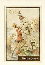 Ferdinand Lecke (1859-1923), Maler und Illustrator in München, Schüler der