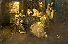 Wilhelm von Schreuer (1866-1933), Düsseldorfer Maler, Schüler von P. Jansse