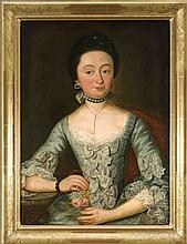 Bildnismaler des 18. Jh., Portrait der Regina Margareta Süsskindin, so ehem