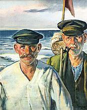 Erwin Hollstein (1892-1966), studierte an der Hochschule für bildende Kunst