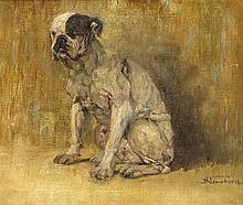 Paul Neuenborn (1866-1913), dt. Tiermaler u. Grafiker, tätig in München u.
