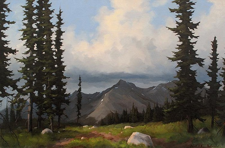 Karl E. Wood Canadian [1944-1990] MT. REVELSTOKE