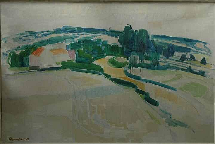 William Townsend (1909-1973) 'Road to Tenterden'