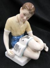 Vintage Royal Doulton Treasure Island HN 2243 Porcelain Figurine, 5 1/4