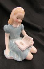 Vintage Royal Doulton Bone China Alice in Wonderland Figurine HN 2158, 5 1/4