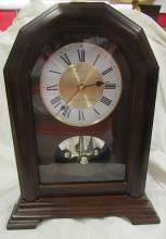 Westminster-Whittington Seiko Quartz Mantel Clock, BO, 12