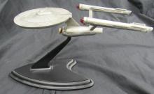 Franklin Mint Pewter Star Trek Starship Enterprise, EC